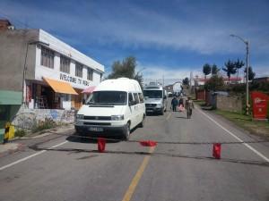 Grenze Peru