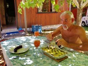 Frühstück mit Würsten