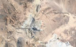 Luftbild Cchuquicamata 1